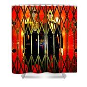 Elevator Elegance Shower Curtain