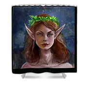 Elf Girl 1 Shower Curtain