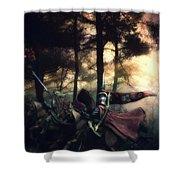 Elf Knights Shower Curtain