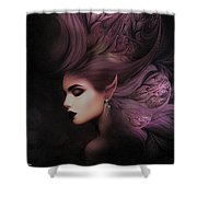 Elf Mystical Beauty 02 Shower Curtain