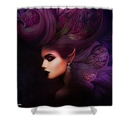 Elf Mystical Beauty Shower Curtain