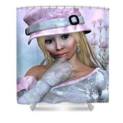Elfin Beauty Shower Curtain