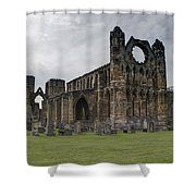Elgin Cathedral - East View Shower Curtain