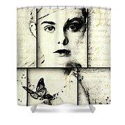 Eliannah Con Mariposa Shower Curtain