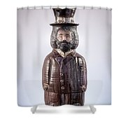 Elijah The Real Mccoy Shower Curtain by David Mack