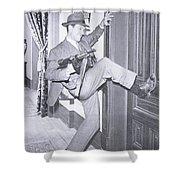 Eliot Ness Shower Curtain