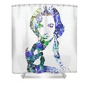 Elithabeth Taylor Shower Curtain