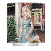 Elizabeth Anne Shower Curtain