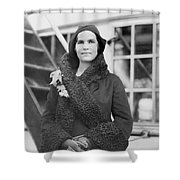 Elizabeth Hughes Gossett Shower Curtain