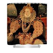 Elizabeth I Armada Portrait Shower Curtain
