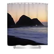 Elk Beach California Shower Curtain by Bob Christopher