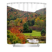 Elk Country Pennsylvania Shower Curtain