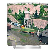 Elk Gorge And Western Shower Curtain