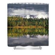 Elk Lake Shower Curtain