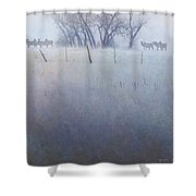 Elk On The Hill Shower Curtain