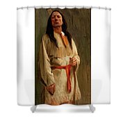 Elkfoot Of The Taos Tribe Shower Curtain