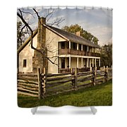 Elkhorn Tavern Shower Curtain by Lana Trussell