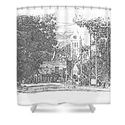 Ellaville, Ga - 1 Shower Curtain