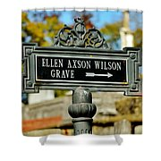 Ellen Axson Wilson Shower Curtain