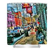Ellicott City Street Shower Curtain