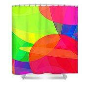 Ellipses 11 Shower Curtain