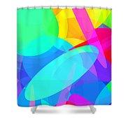 Ellipses 19 Shower Curtain