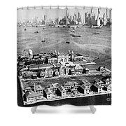 Ellis Island, 1933 Shower Curtain