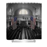 Ellis Island Shower Curtain