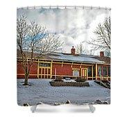 Elma Depot Shower Curtain