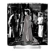 Elsa Lanchester Bride Of Frankenstein 4 1935-2015 Shower Curtain