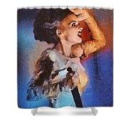 Elsa Lanchester, Bride Of Frankenstein Shower Curtain