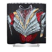 Elven Armor Shower Curtain