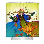 Elven Mage Shower Curtain