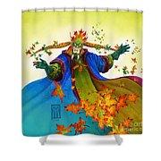 Elven Mage Shower Curtain