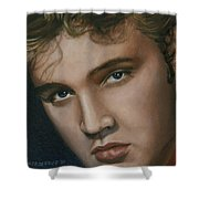 Elvis 24 1955 Shower Curtain