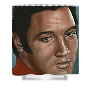 Elvis 24 1968 Shower Curtain