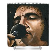 Elvis 24 1972 Shower Curtain