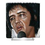 Elvis 24 1975 Shower Curtain
