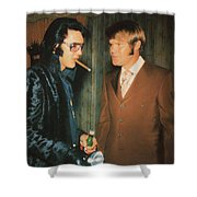 Elvis And Glen Shower Curtain