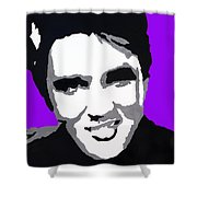 Elvis Don't Live Here Anymore Shower Curtain