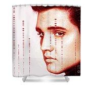 Elvis Preslely Shower Curtain