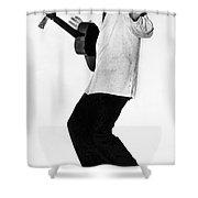 Elvis Presley In 1956 Shower Curtain