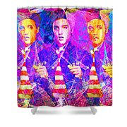 Elvis Presley Jail House Rock 20160520 Horizontal Shower Curtain