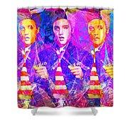 Elvis Presley Jail House Rock 20160520 Horizontal Shower Curtain