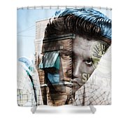 Elvis Presley Sun Studio Collection Shower Curtain