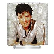 Elvis Presley Y Mb Shower Curtain