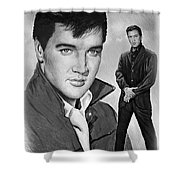 Elvis Roustabout Shower Curtain