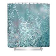 Elvish Worlds 1. Nature In Alien Skin Shower Curtain