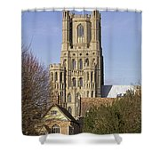 Ely Cathedral West Tower Shower Curtain