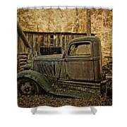 Ely's Mill Dodge Shower Curtain